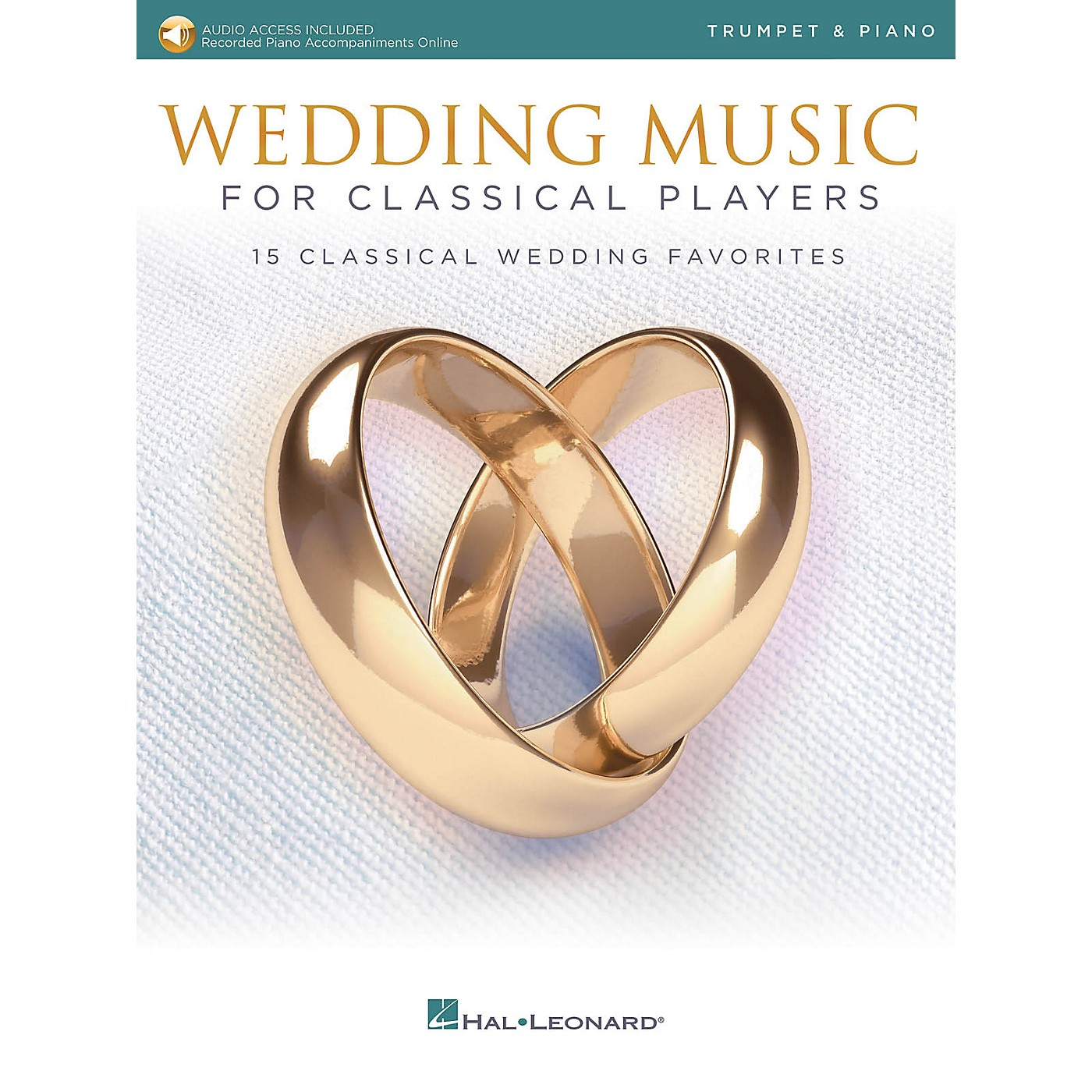 Hal Leonard Wedding Music for Classical Players - Trumpet and Piano Book/Audio Online thumbnail