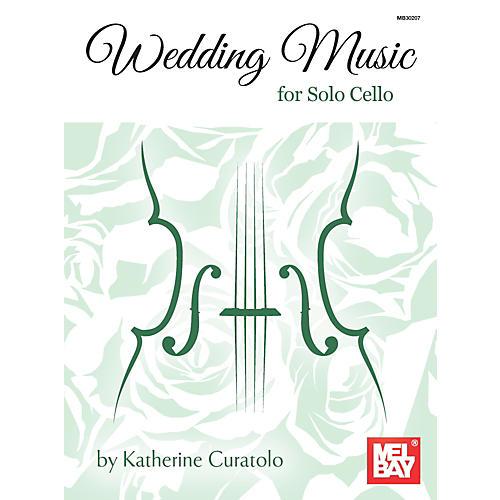 Mel Bay Wedding Music for Solo Cello thumbnail