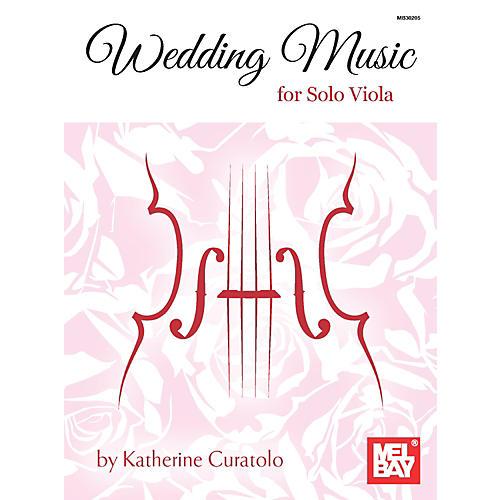 Mel Bay Wedding Music for Solo Viola thumbnail