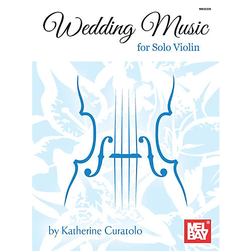 Mel Bay Wedding Music for Solo Violin thumbnail