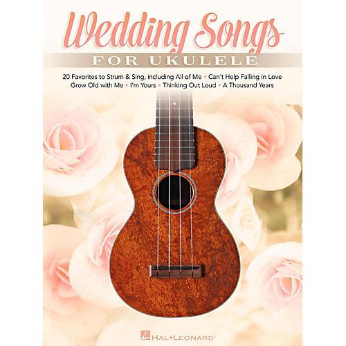 Hal Leonard Wedding Songs For Ukulele - 20 Favorites to Strum & Sing thumbnail