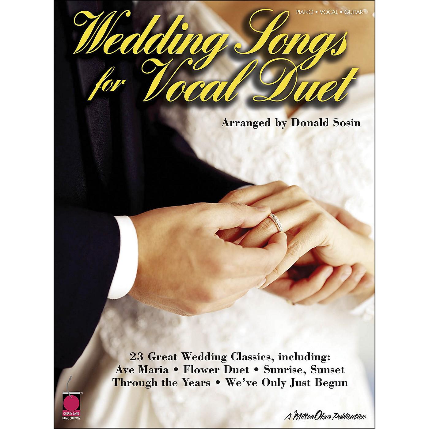 Cherry Lane Wedding Songs for Vocal Duet thumbnail