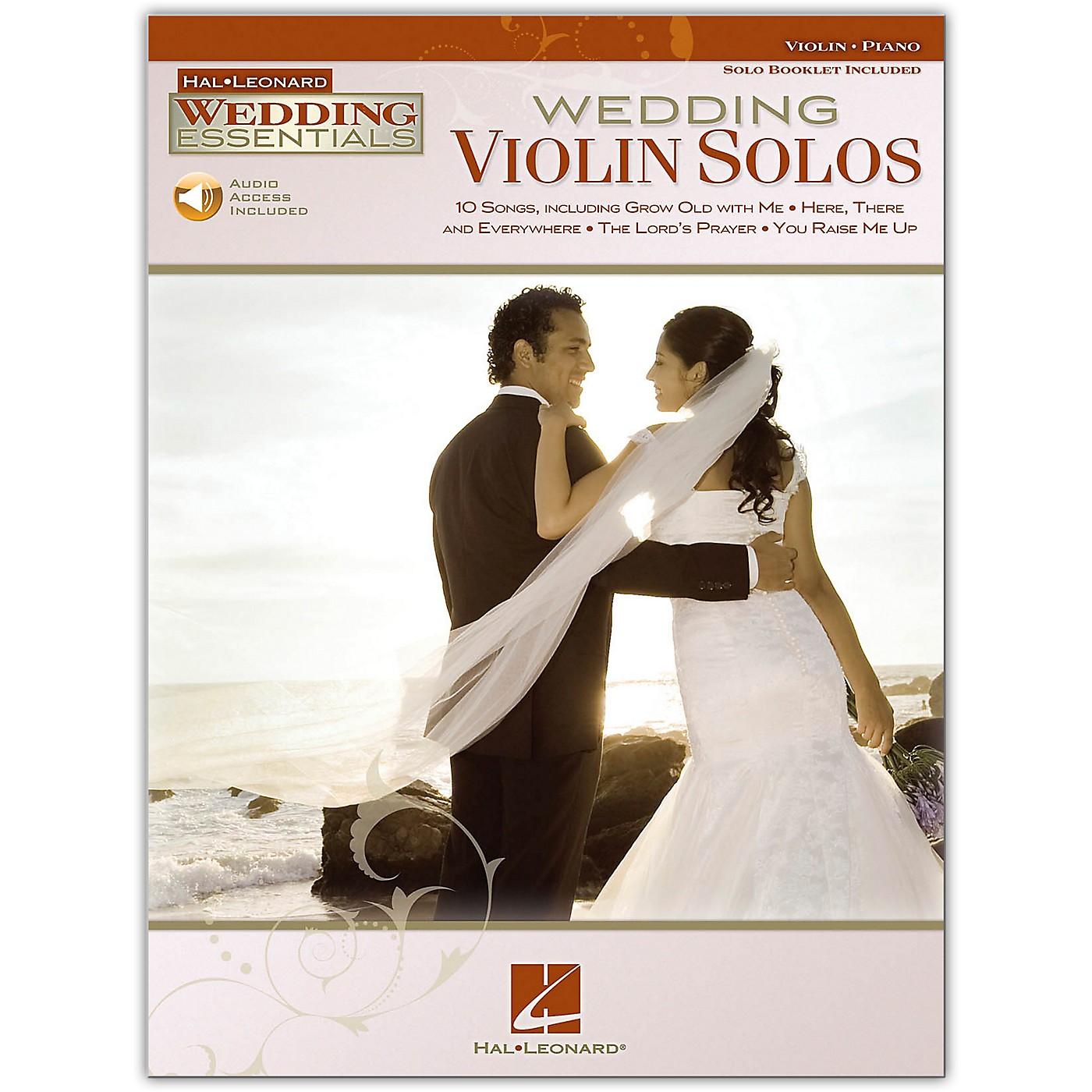 Hal Leonard Wedding Violin Solos - Wedding Essentials Series Book/Online Audio thumbnail