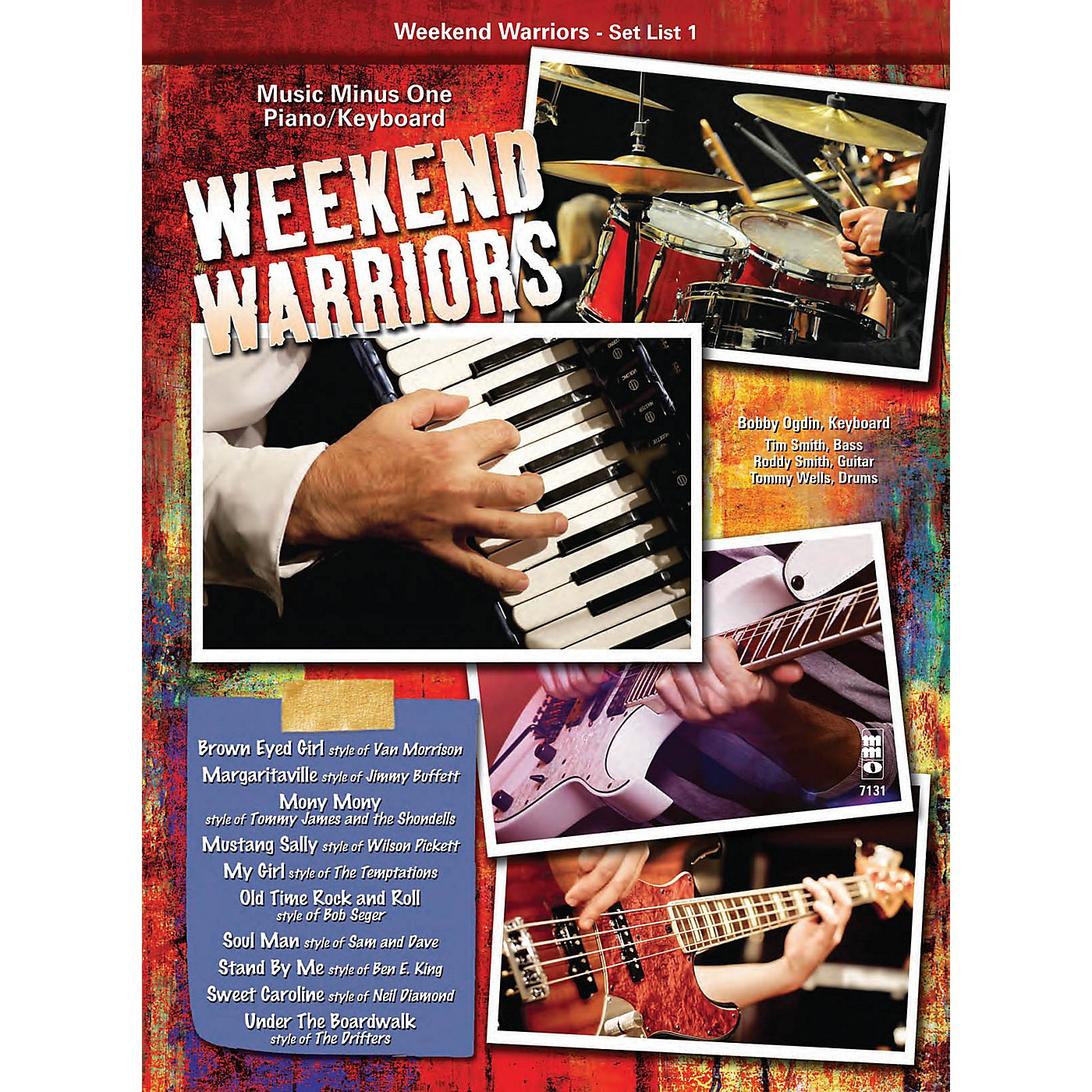 Music Minus One Weekend Warriors - Set List 1, Piano/Keyboard Music Minus One Series Softcover with CD by Various thumbnail