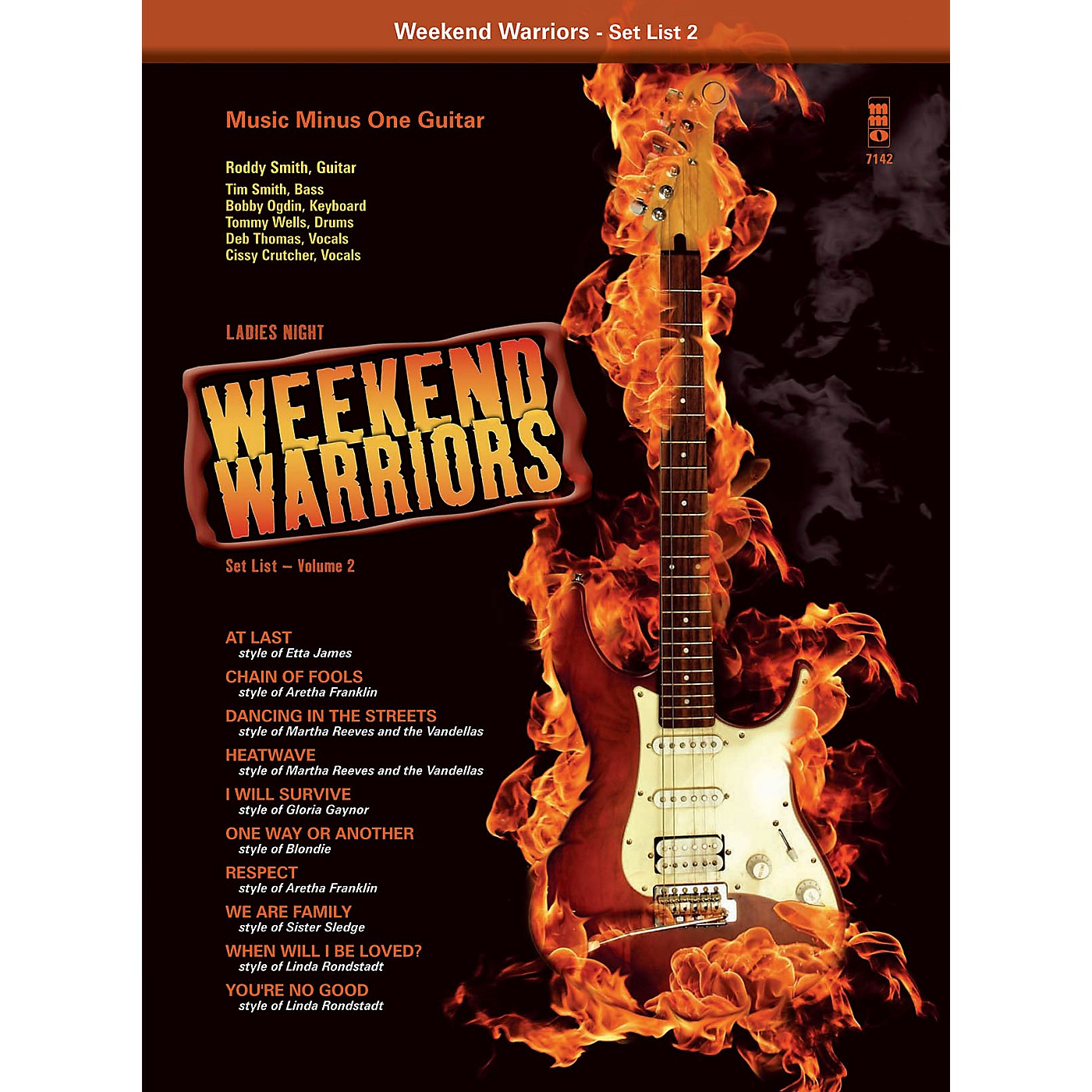 Music Minus One Weekend Warriors, Set List 2 - Ladies' Night Singer's Songbook Music Minus One Series Softcover with CD thumbnail