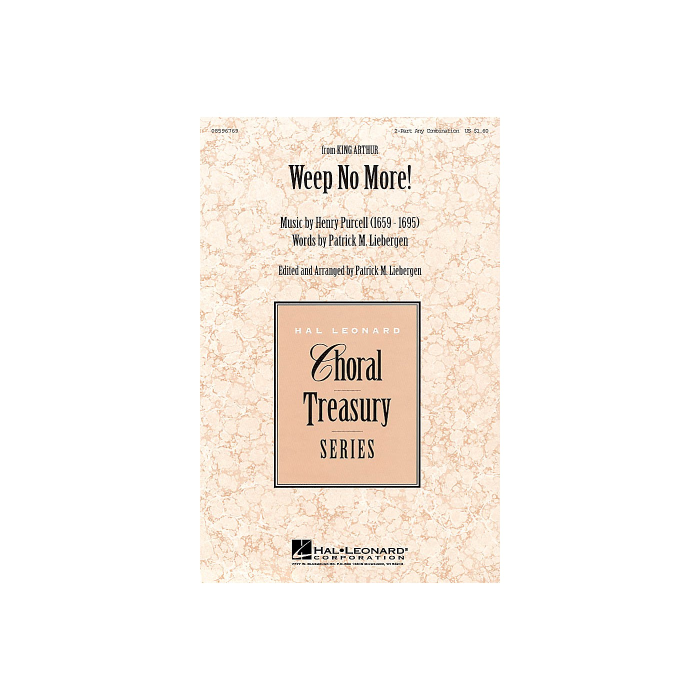 Hal Leonard Weep No More! 2-Part any combination thumbnail