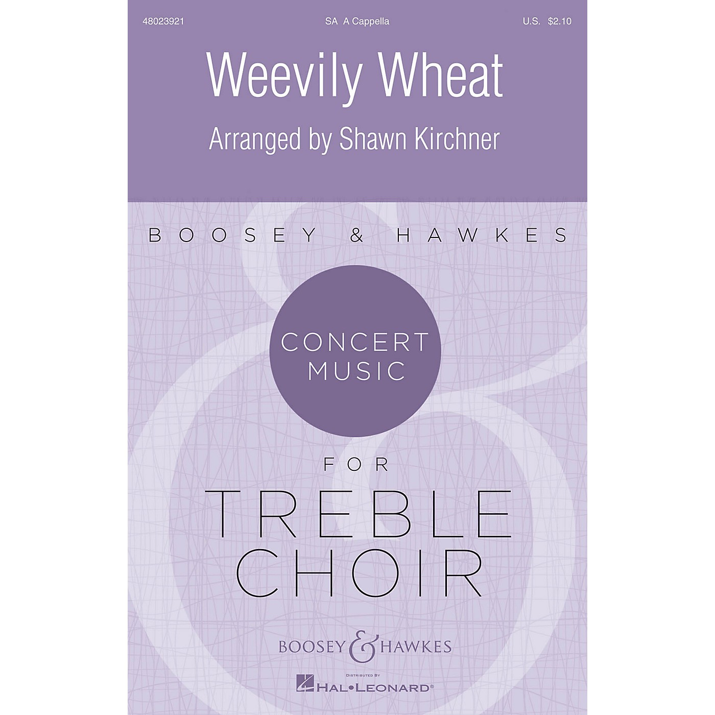 Boosey and Hawkes Weevily Wheat (Concert Music for Treble Choir) SA arranged by Shawn Kirchner thumbnail