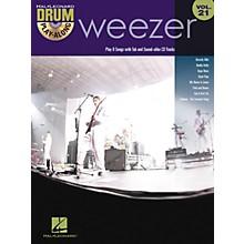 Hal Leonard Weezer - Drum Play-Along Volume 21 Book/CD