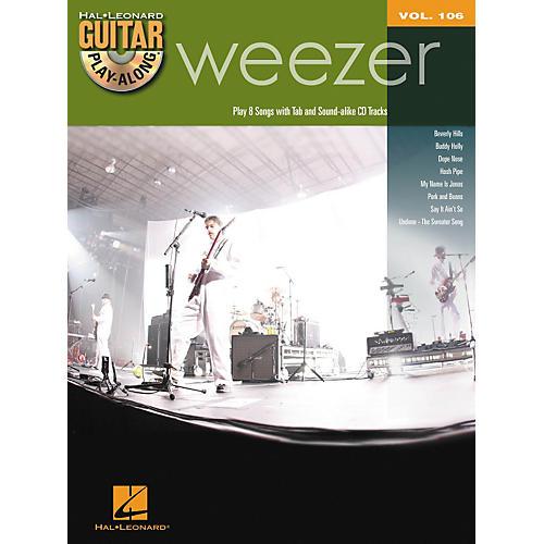 Hal Leonard Weezer - Guitar Play-Along Volume 106 Book/CD thumbnail