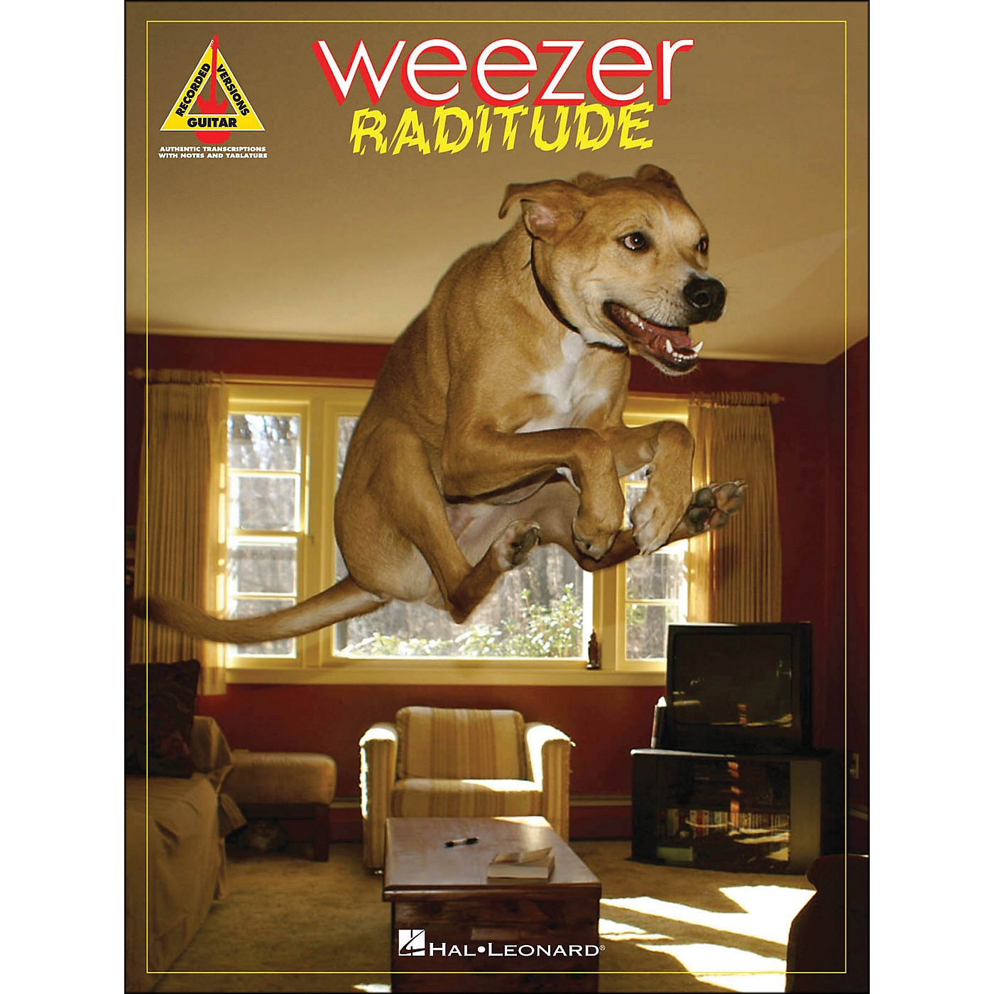 Hal Leonard Weezer - Raditude Tab Songbook thumbnail