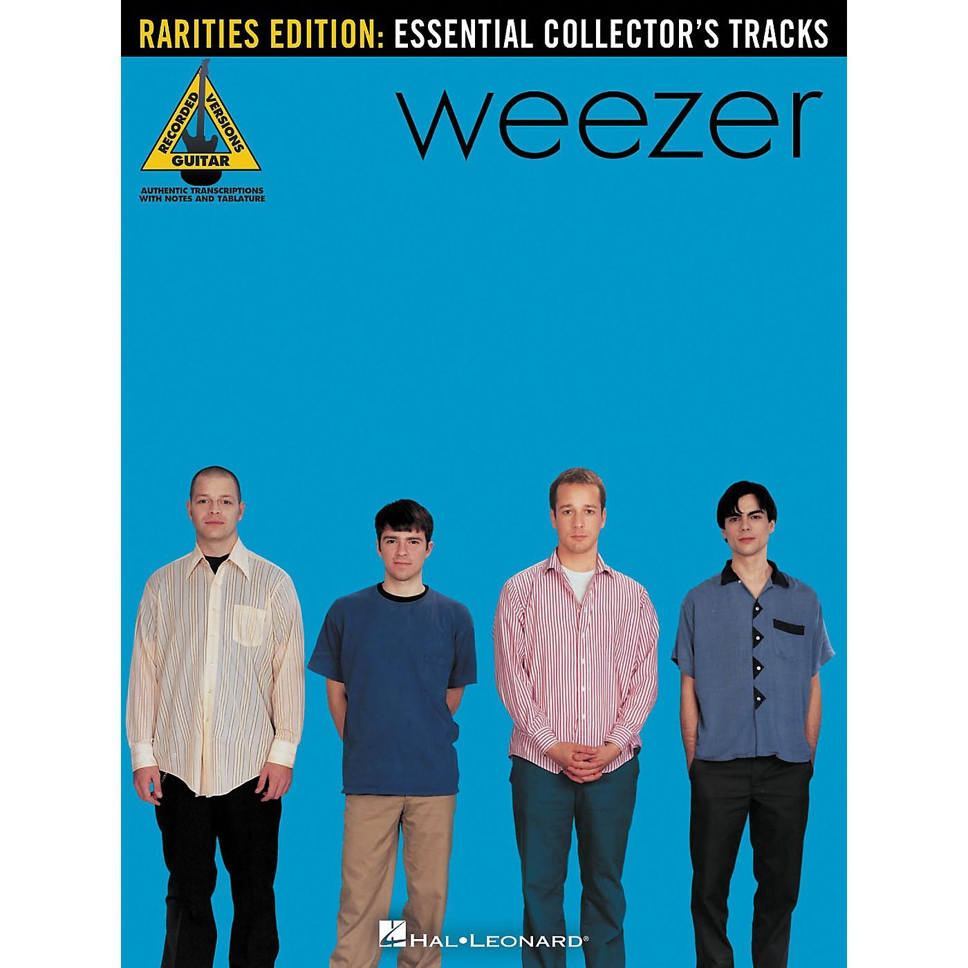 Hal Leonard Weezer - Rarities Edition Guitar Tab Songbook thumbnail