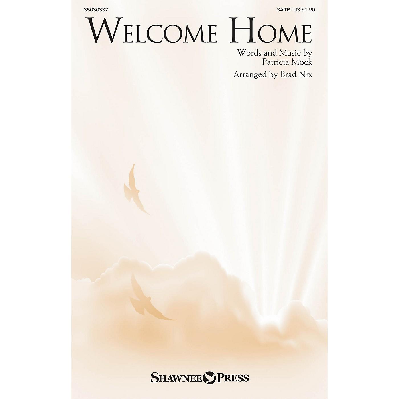 Shawnee Press Welcome Home SATB arranged by Brad Nix thumbnail