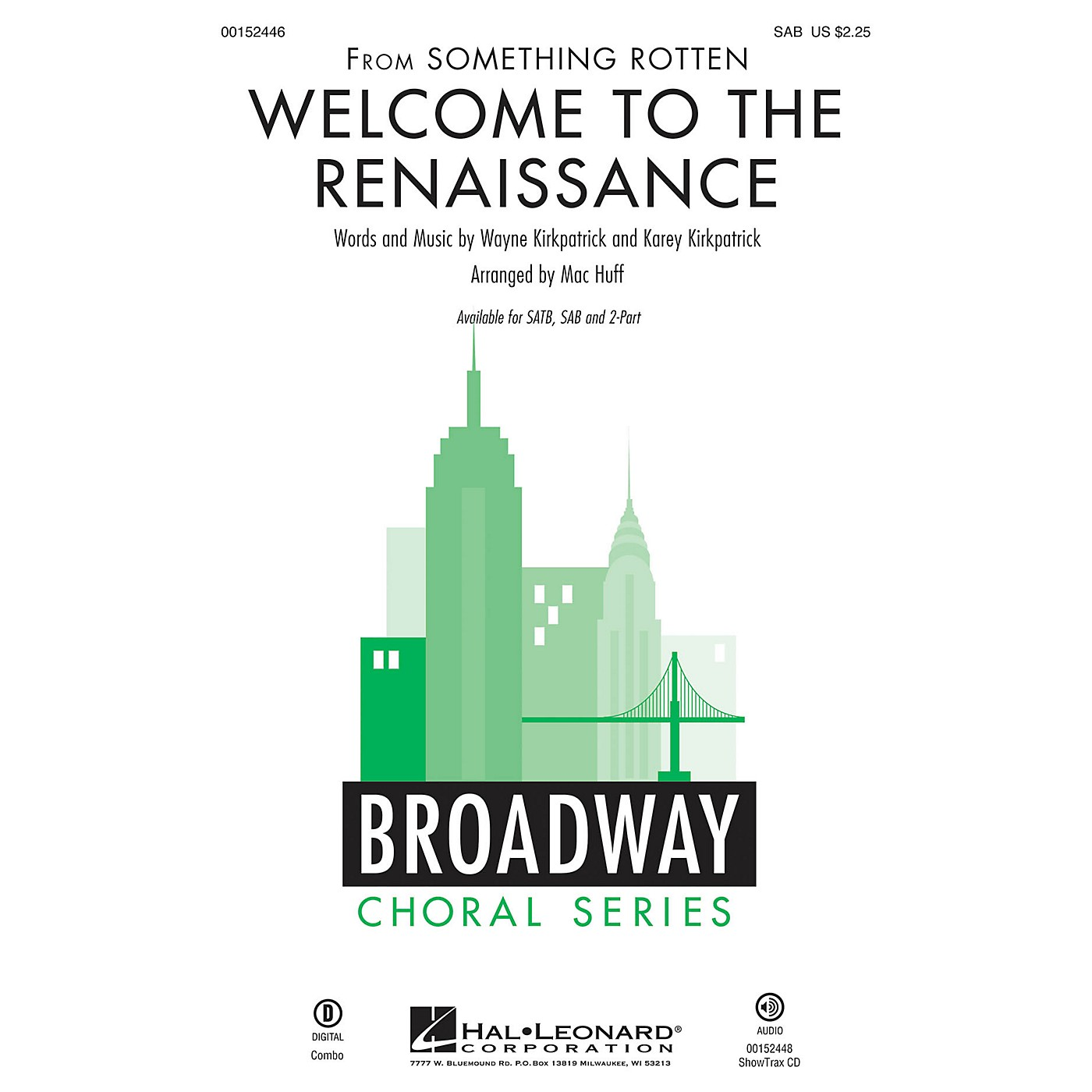 Hal Leonard Welcome to the Renaissance (from Something Rotten) SAB arranged by Mac Huff thumbnail