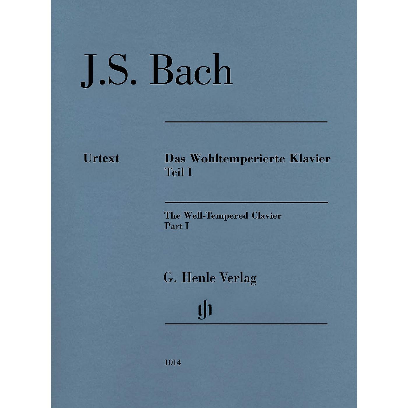 G. Henle Verlag Well-Tempered Clavier BWV 846-869 Part I Henle Music Folios Series Softcover by Johann Sebastian Bach thumbnail