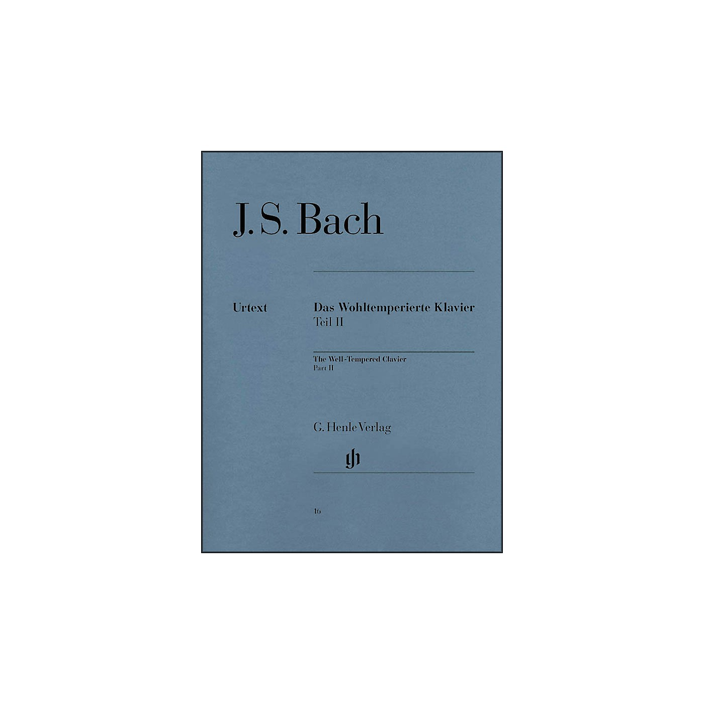 G. Henle Verlag Well-Tempered Clavier BWV 870-893 Part II By Bach thumbnail