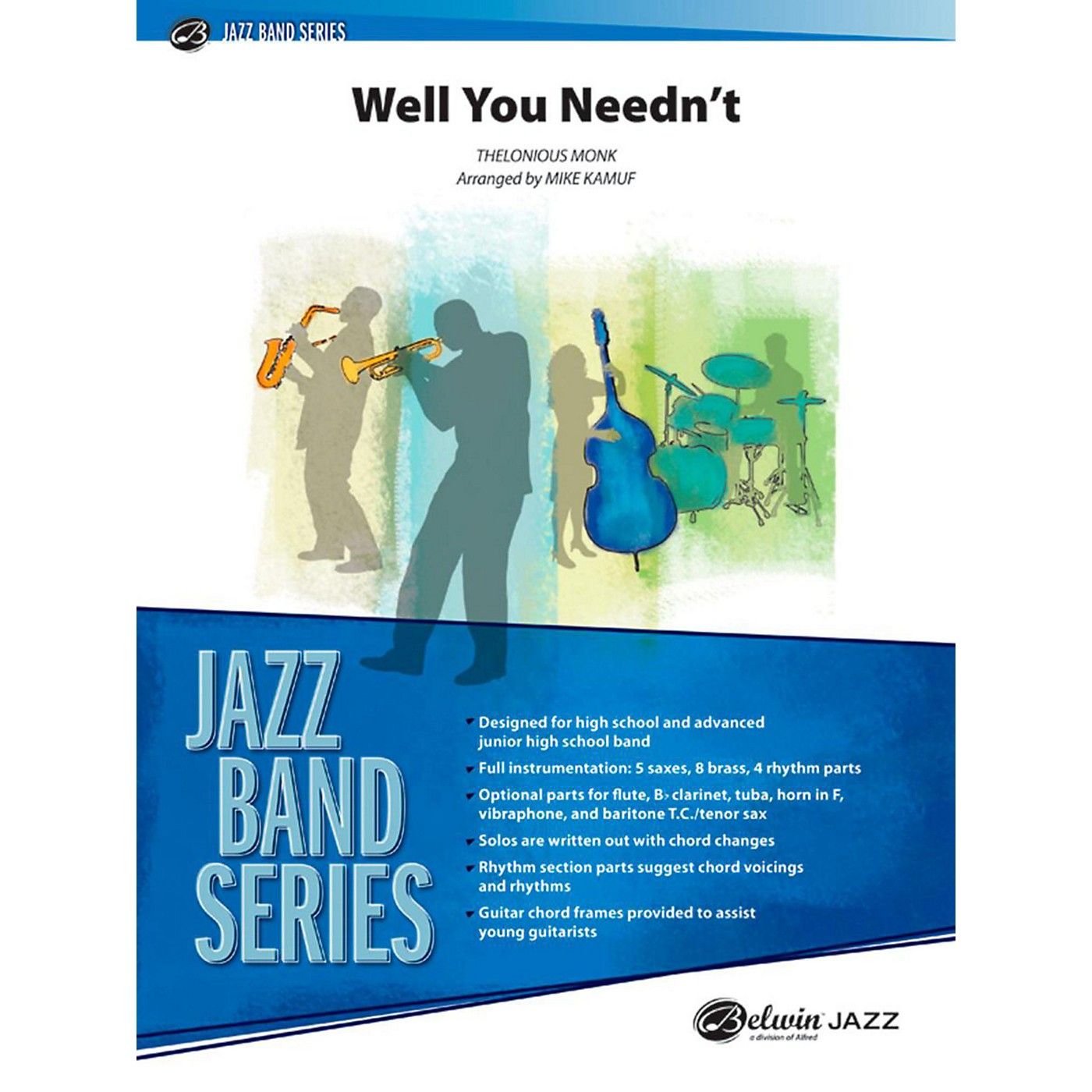 Alfred Well You Needn't Jazz Band Grade 3.5 thumbnail