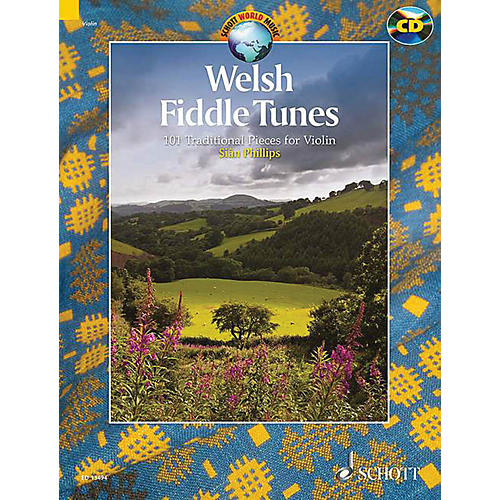 Schott Welsh Fiddle Tunes String Solo Series Softcover with CD thumbnail
