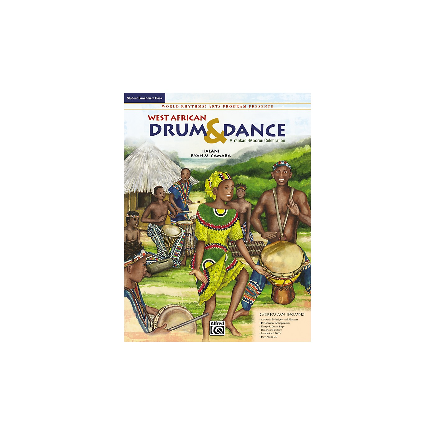 Alfred West African Drum & Dance: A Yankadi-Macrou Celebration - Student Book thumbnail