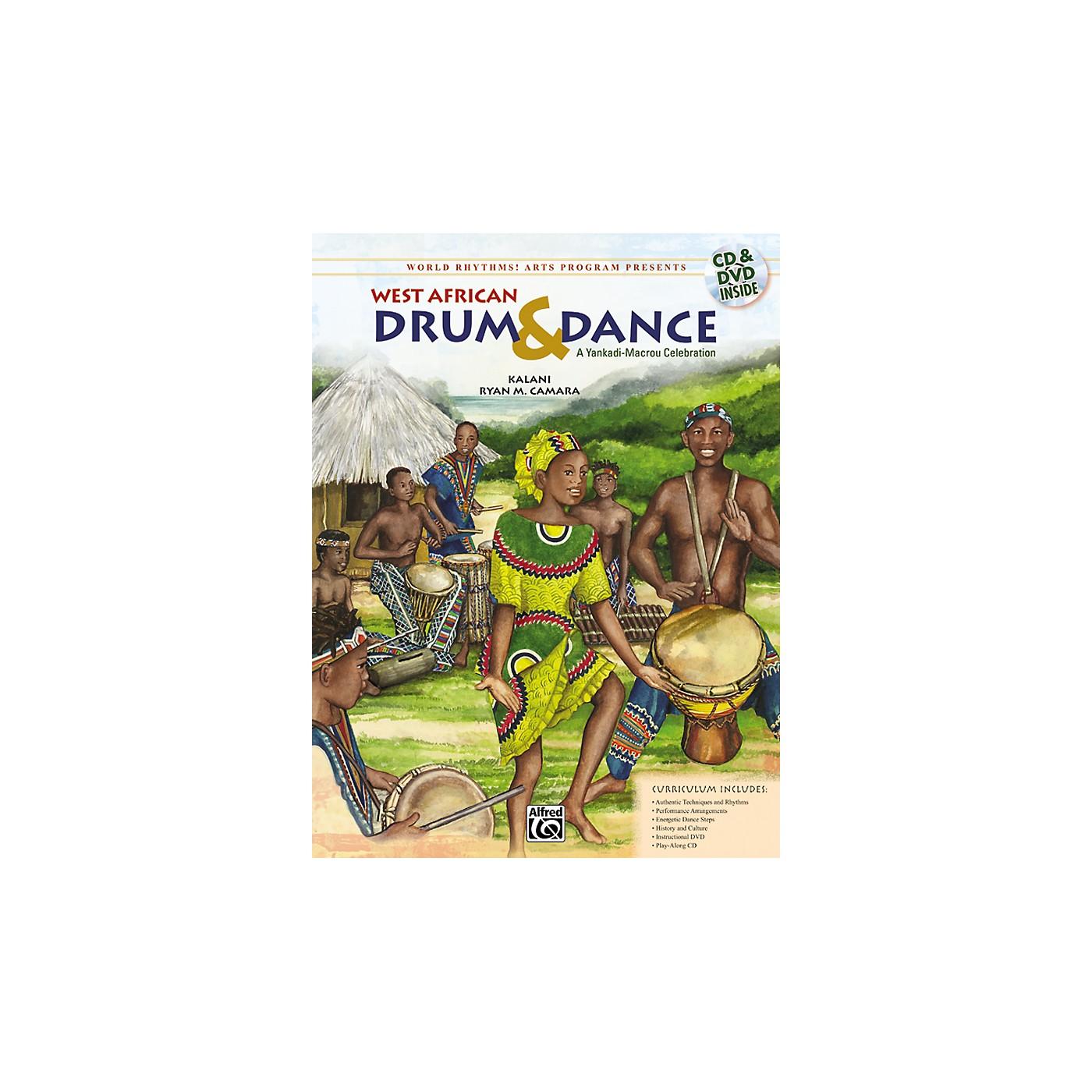 Alfred West African Drum & Dance: A Yankadi-Macrou Celebration (CD) thumbnail