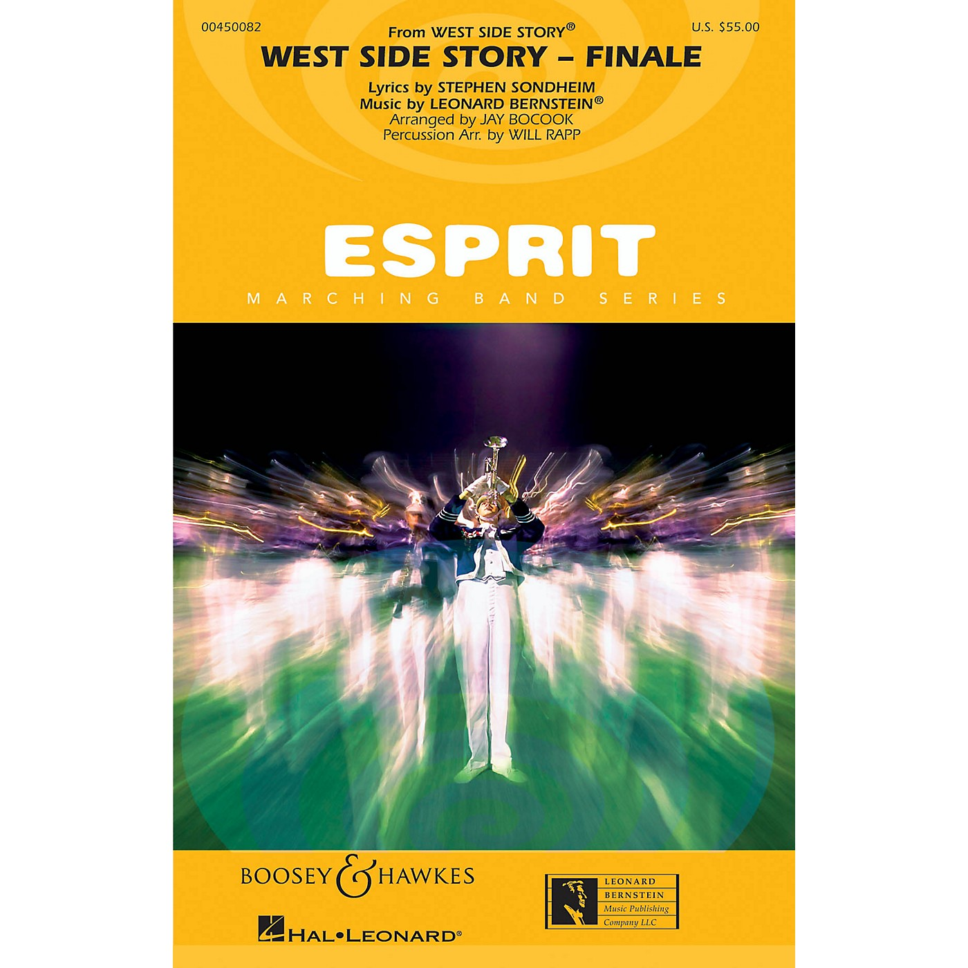Hal Leonard West Side Story - Finale Marching Band Level 3 Arranged by Jay Bocook thumbnail