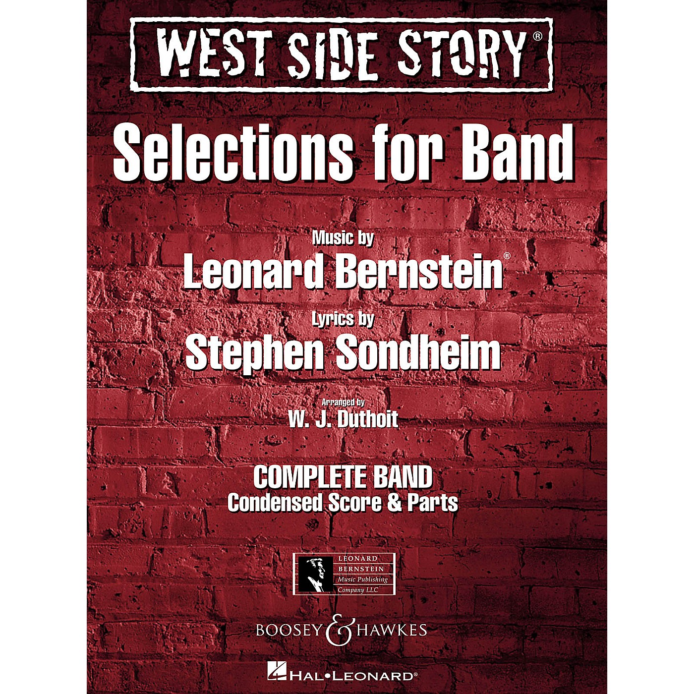 Hal Leonard West Side Story - Selections for Band Concert Band Level 4-5 Arranged by W.J. Duthoit thumbnail