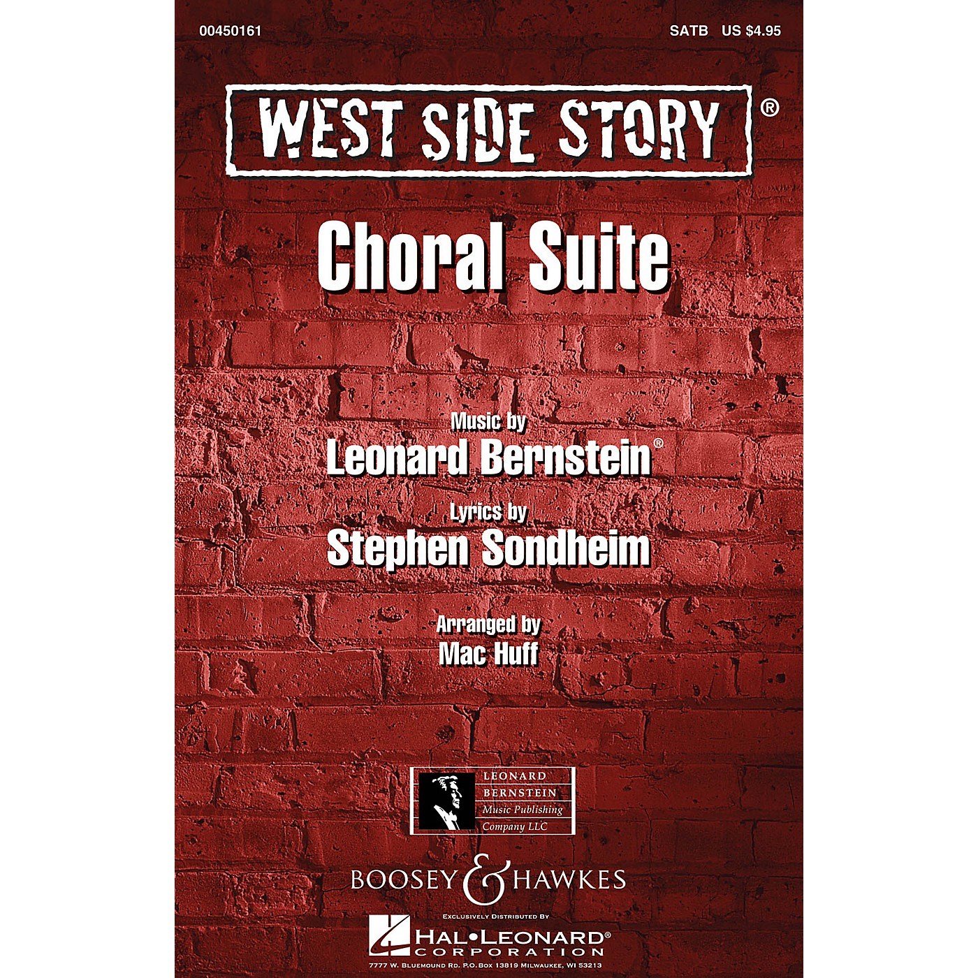Boosey and Hawkes West Side Story (Choral Suite) 2-Part Arranged by Mac Huff thumbnail