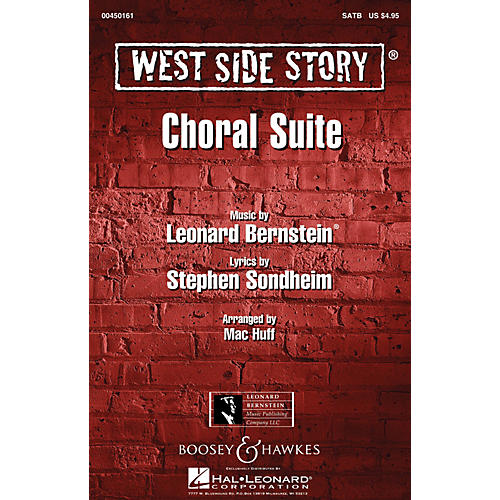 Hal Leonard West Side Story (Choral Suite) Arranged by Mac Huff thumbnail