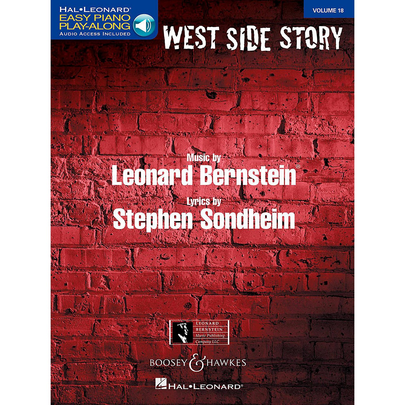 Boosey and Hawkes West Side Story Easy Piano Play-Along Vol. 18 Book/Online Audio thumbnail