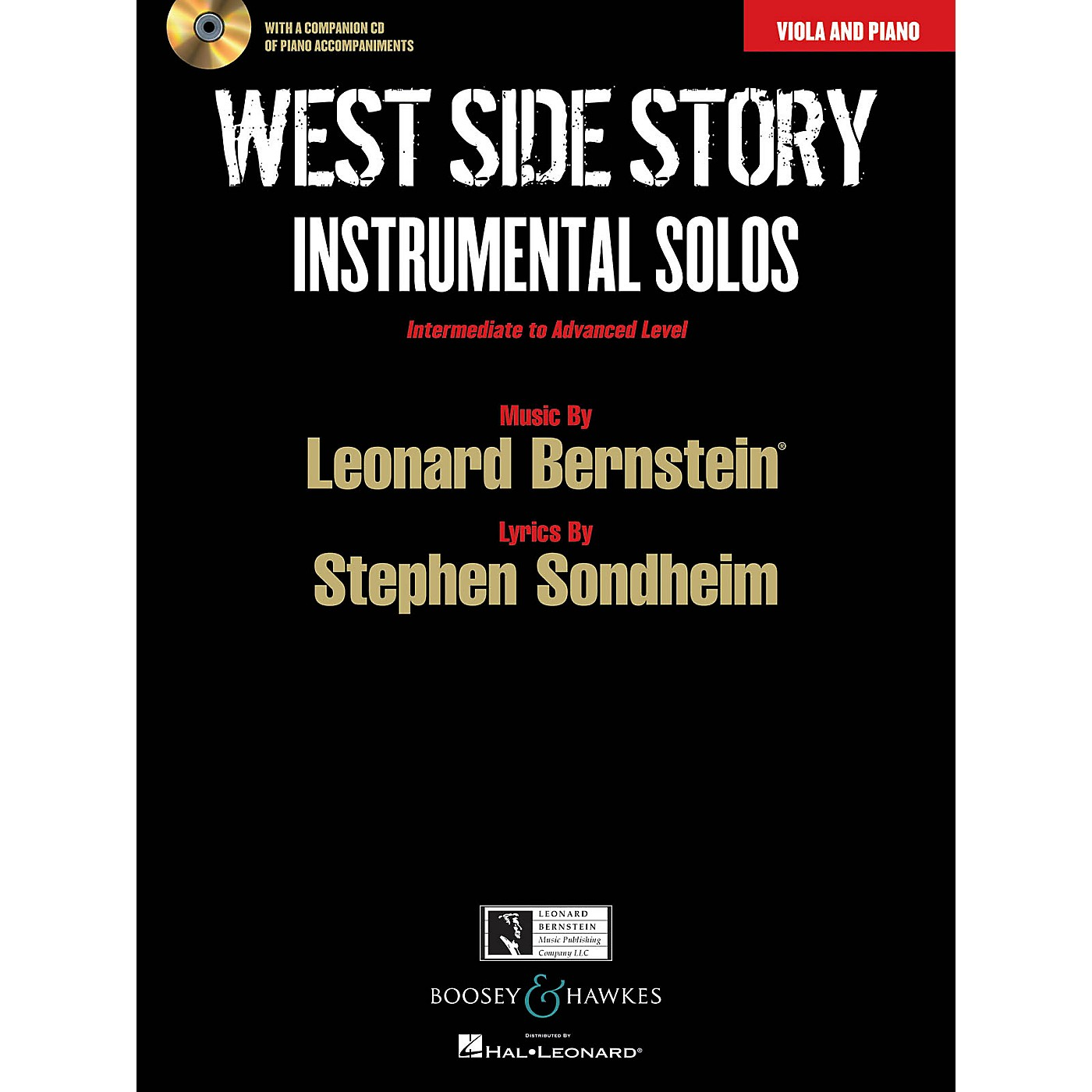 Boosey and Hawkes West Side Story Instrumental Solos Instrumental Series Softcover with CD thumbnail
