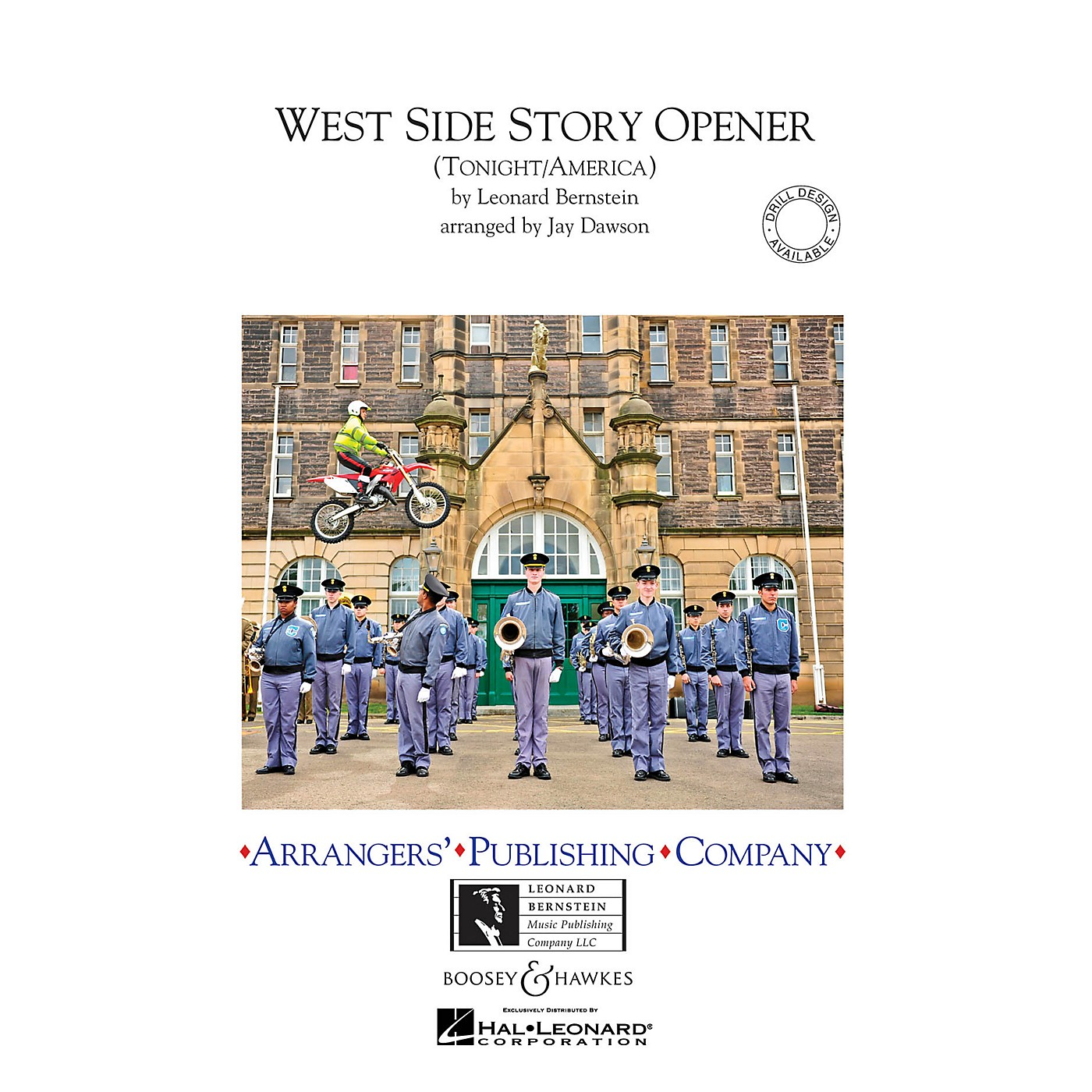 Arrangers West Side Story Opener Marching Band Level 2.5 Arranged by Jay Dawson thumbnail
