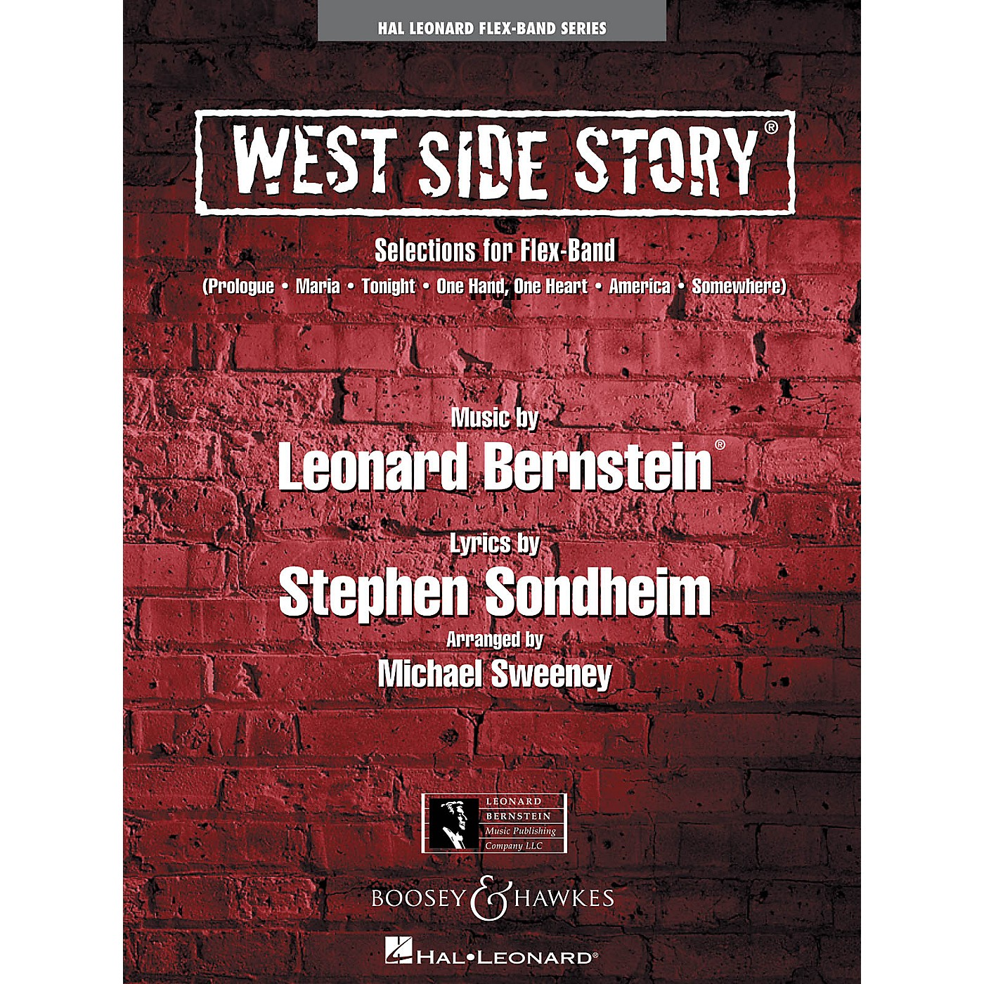 Hal Leonard West Side Story (Selections for Flex-Band) Concert Band Level 2-3 Arranged by Michael Sweeney thumbnail