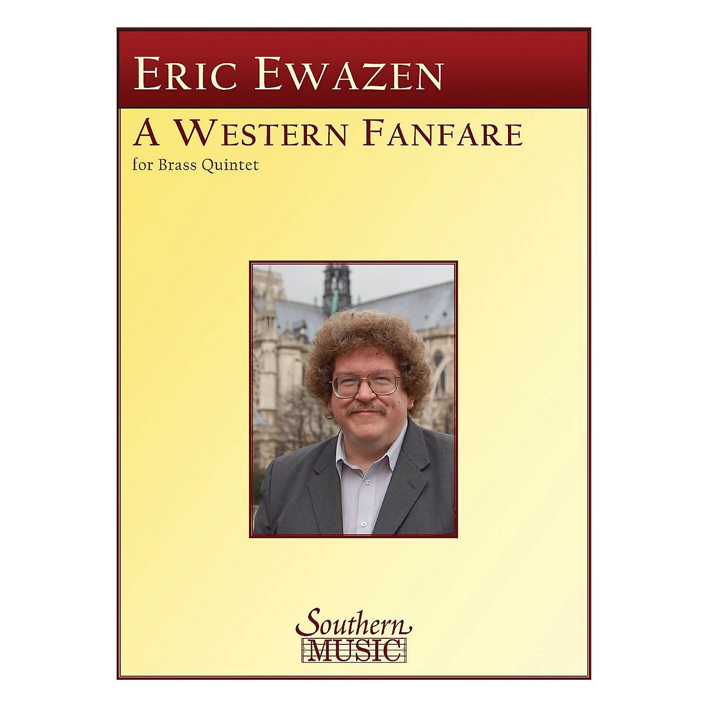Southern Western Fanfare (Brass Quintet) Southern Music Series by Eric Ewazen thumbnail