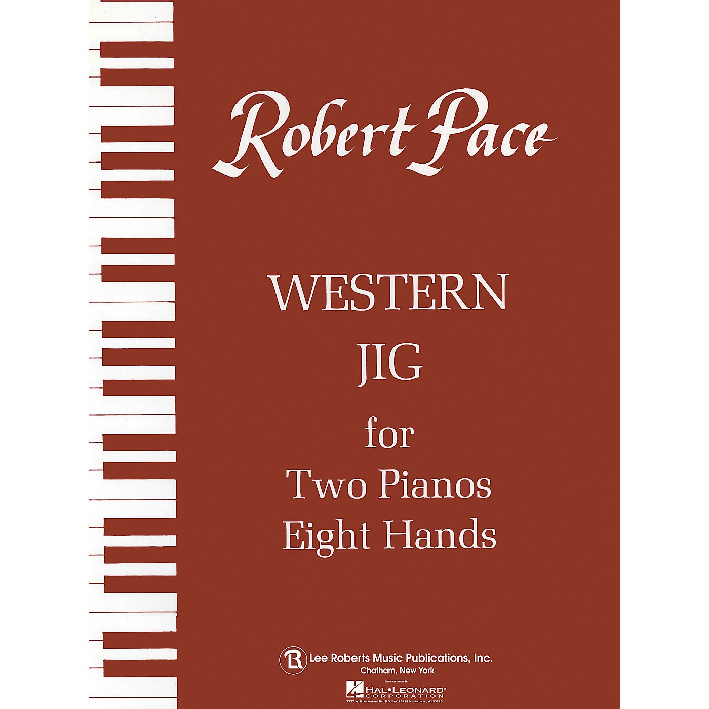 Lee Roberts Western Jig - Brown (Book V) Pace Piano Education Series Composed by Robert Pace thumbnail