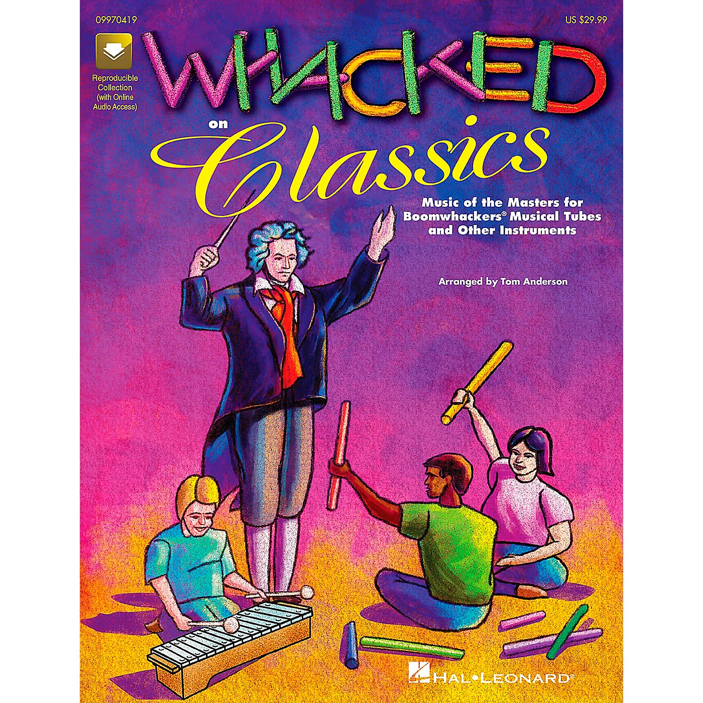 Hal Leonard Whacked on Classics for Boomwhackers Book thumbnail