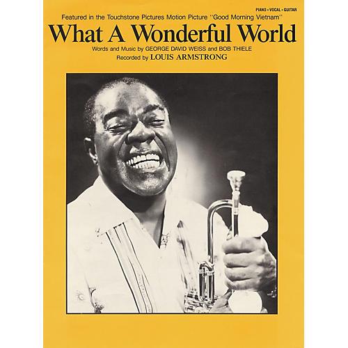 Hal Leonard What A Wonderful World thumbnail