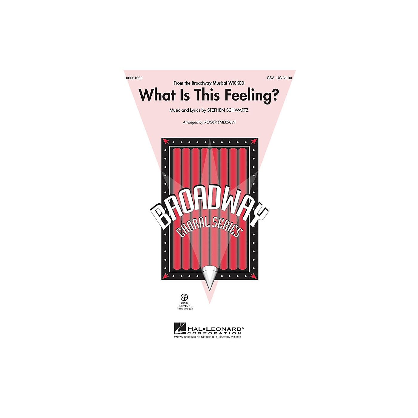 Hal Leonard What Is This Feeling? (from Wicked) ShowTrax CD Arranged by Roger Emerson thumbnail