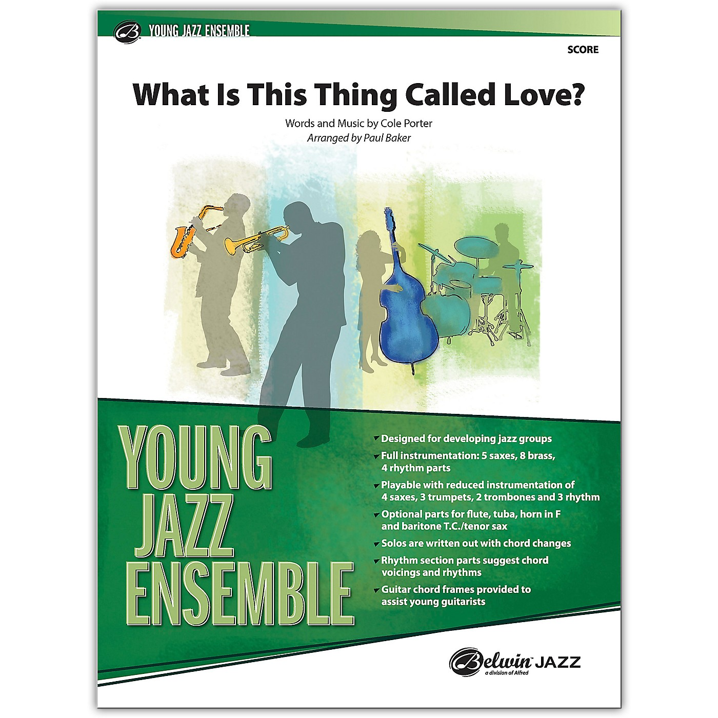 BELWIN What Is This Thing Called Love? Conductor Score 2.5 (Medium Easy) thumbnail