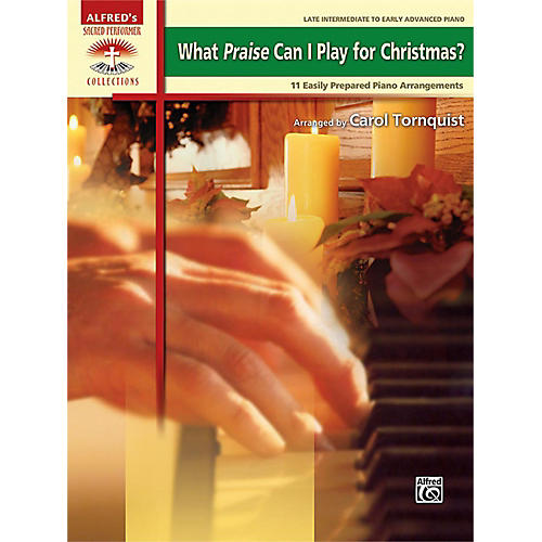 Alfred What Praise Can I Play for Christmas? Book thumbnail