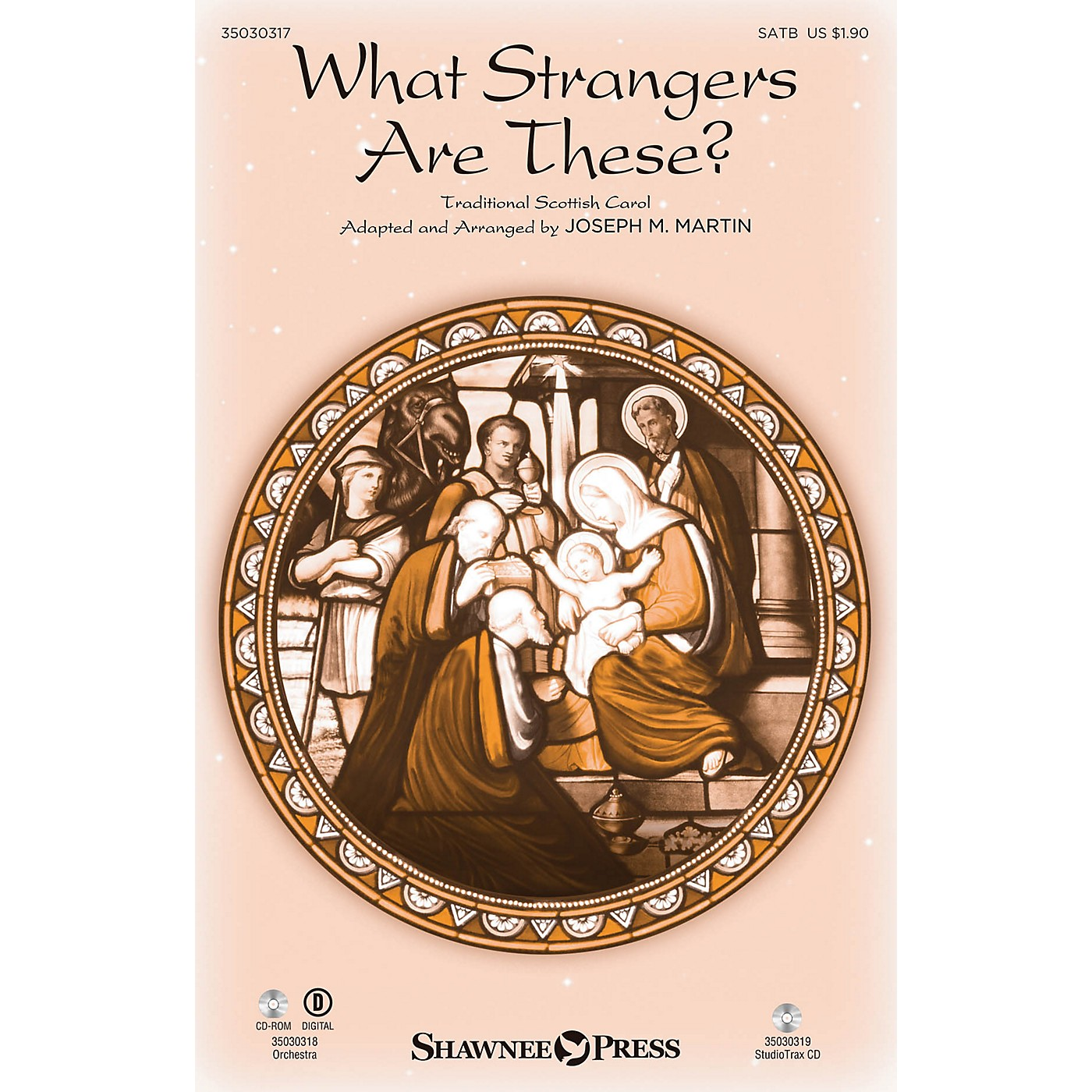 Shawnee Press What Strangers Are These? SATB arranged by Joseph M. Martin thumbnail