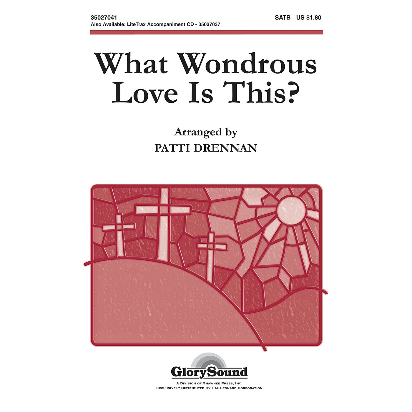 Shawnee Press What Wondrous Love Is This (American Folk Hymn) SATB arranged by Patti Drennan thumbnail