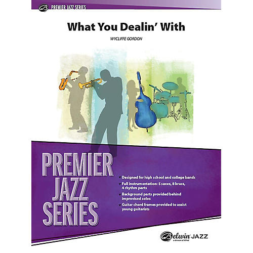 Alfred What You Dealin' With Jazz Band Grade 4 Set thumbnail