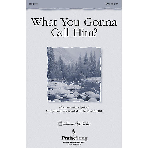 PraiseSong What You Gonna Call Him? (ChoirTrax CD) CHOIRTRAX CD Composed by Tom Fettke thumbnail
