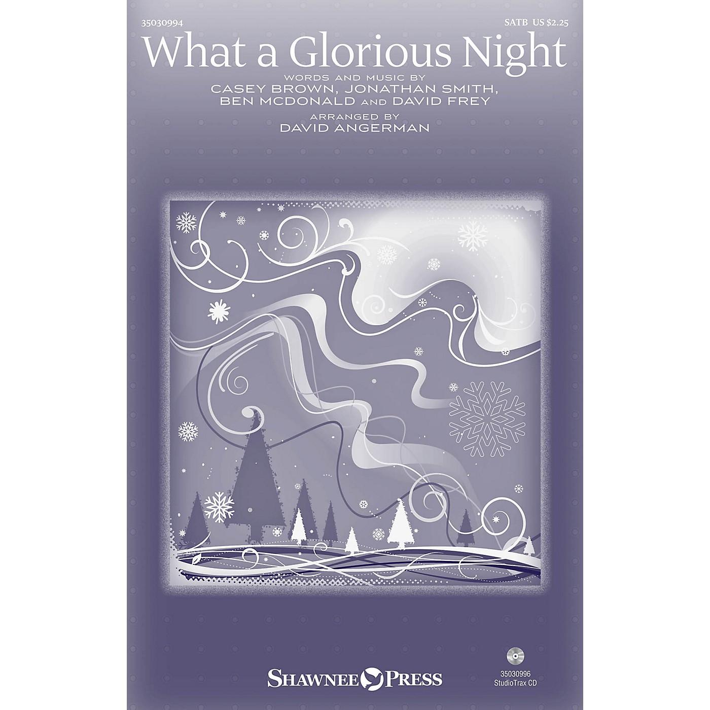 Shawnee Press What a Glorious Night Studiotrax CD by Sidewalk Prophets Arranged by David Angerman thumbnail