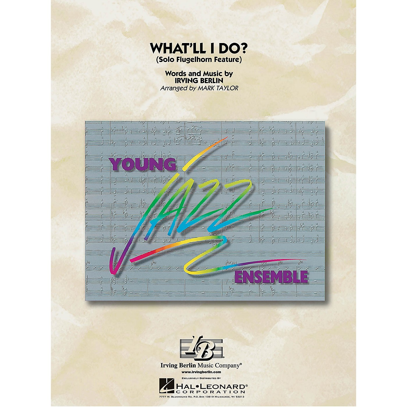 Hal Leonard What'll I Do? (Flugelhorn Feature) Jazz Band Level 3 Arranged by Mark Taylor thumbnail