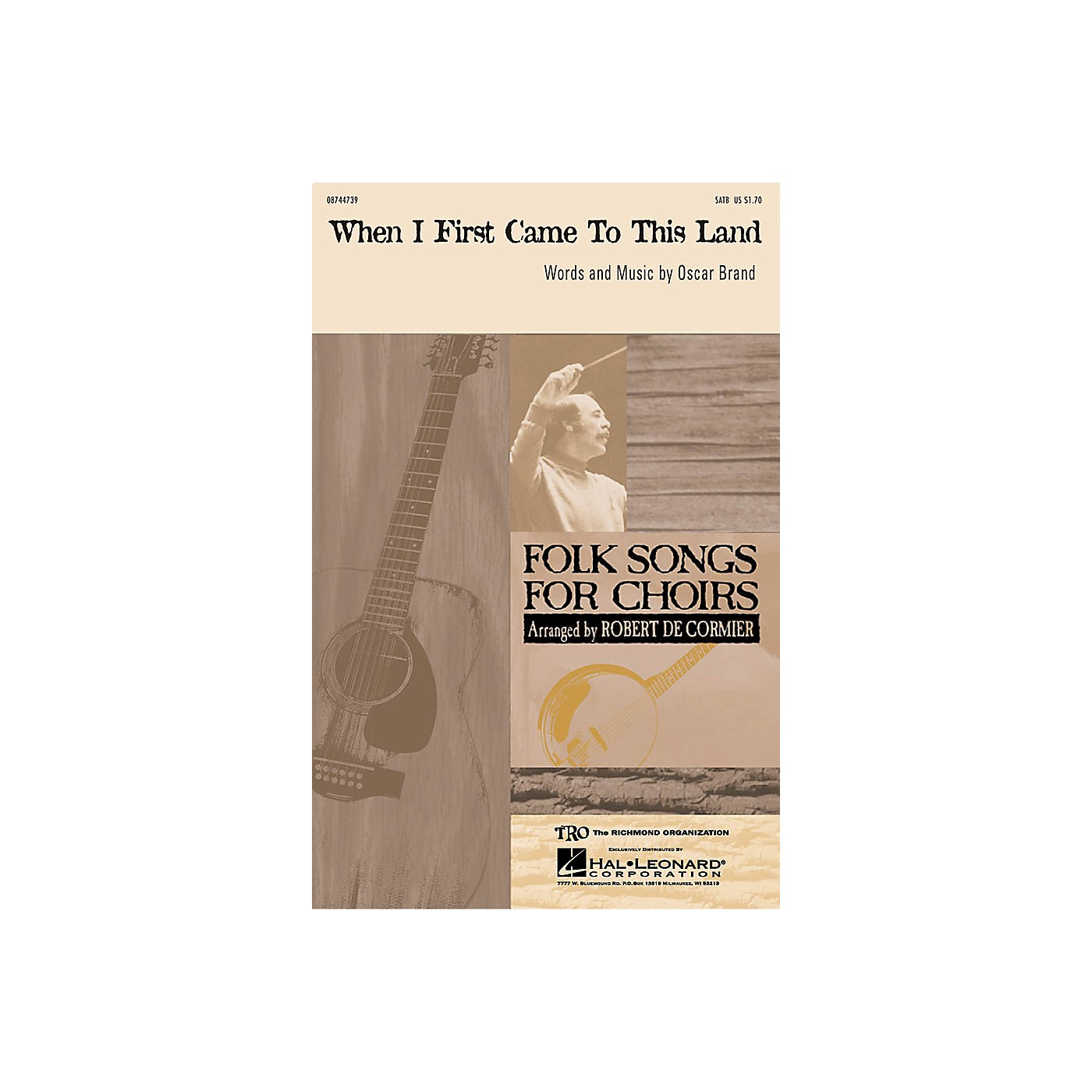 TRO ESSEX Music Group When I First Came to This Land SATB arranged by Robert DeCormier thumbnail