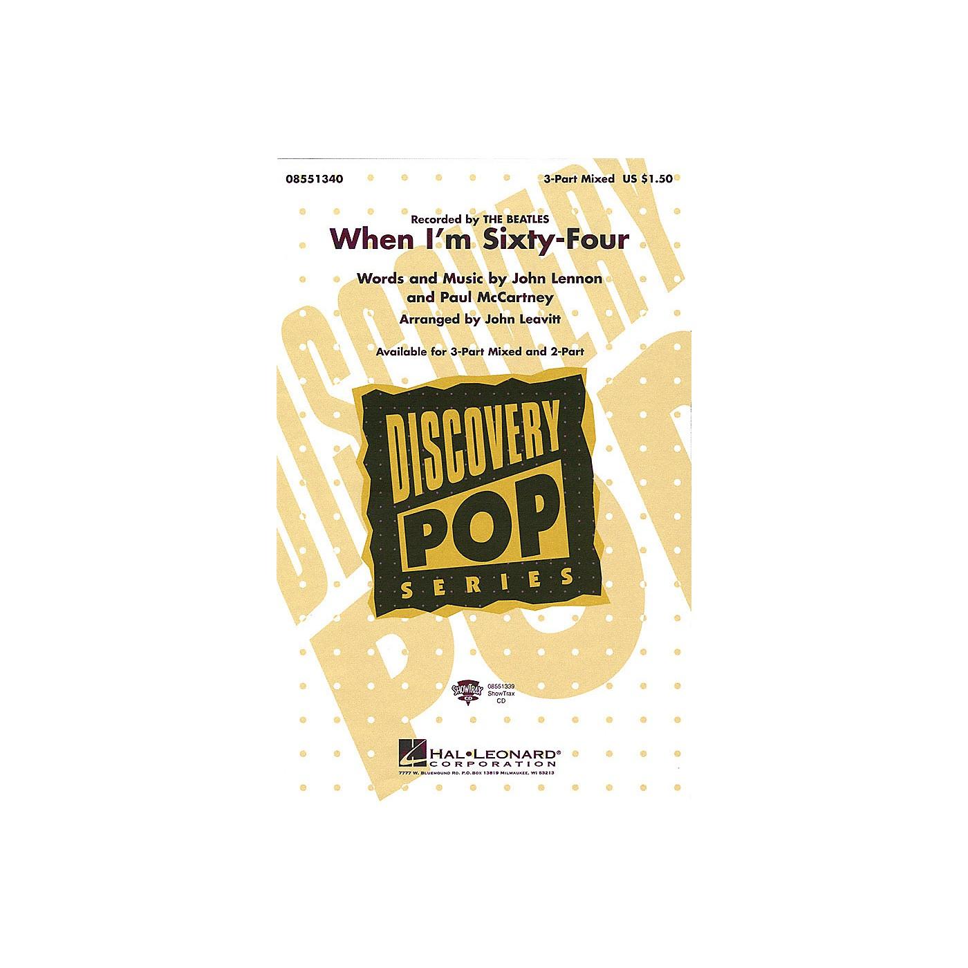 Hal Leonard When I'm Sixty-Four 2-Part by The Beatles arranged by John Leavitt thumbnail