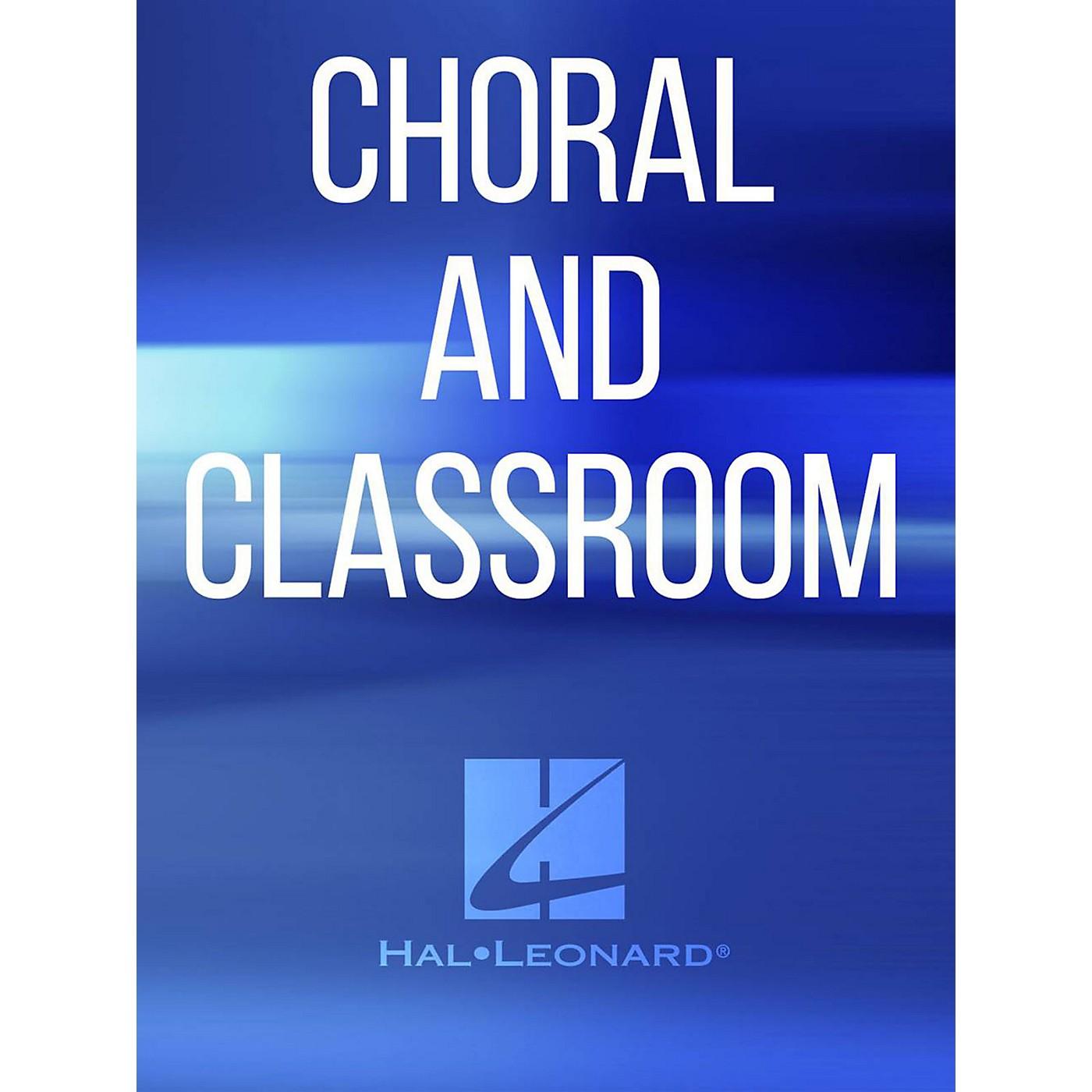 Hal Leonard When The Ear Heard Her SATB Composed by Jay Crenshaw Decker thumbnail