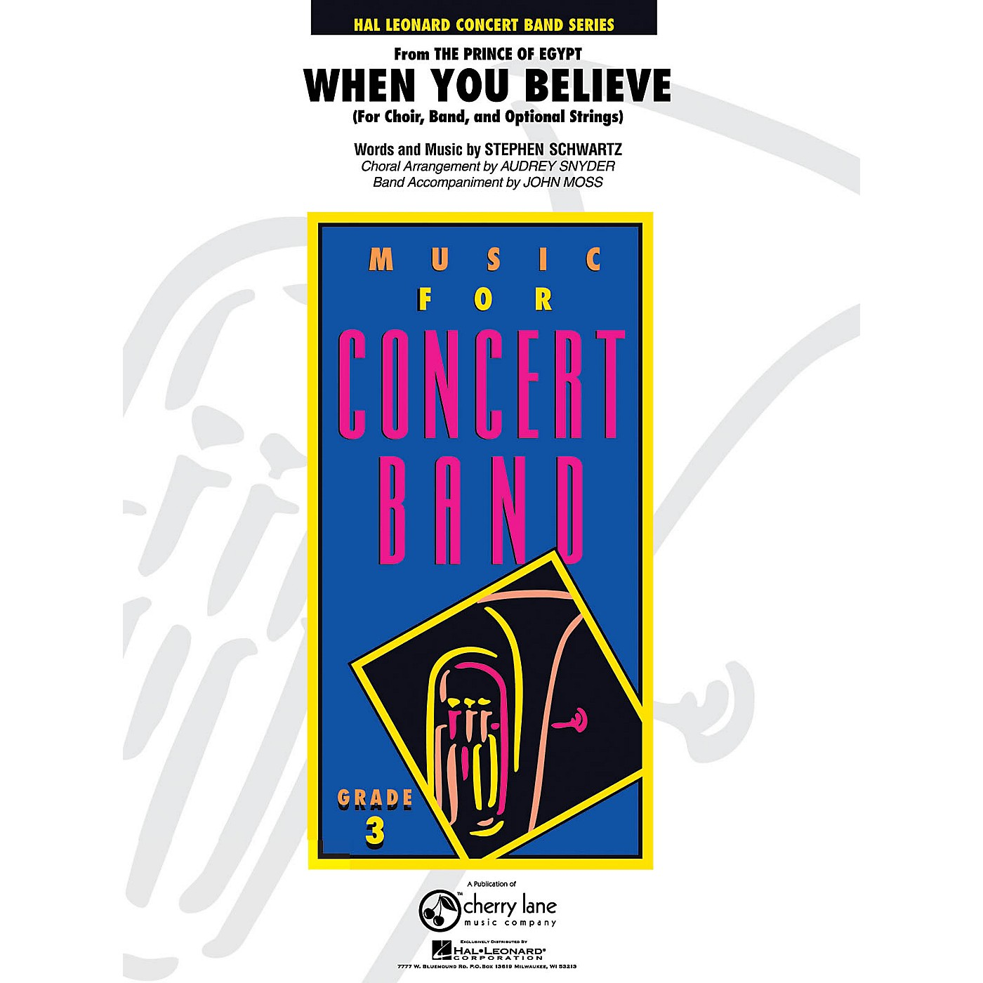 Cherry Lane When You Believe (from The Prince of Egypt) - Young Concert Band Series Level 3 arranged by thumbnail