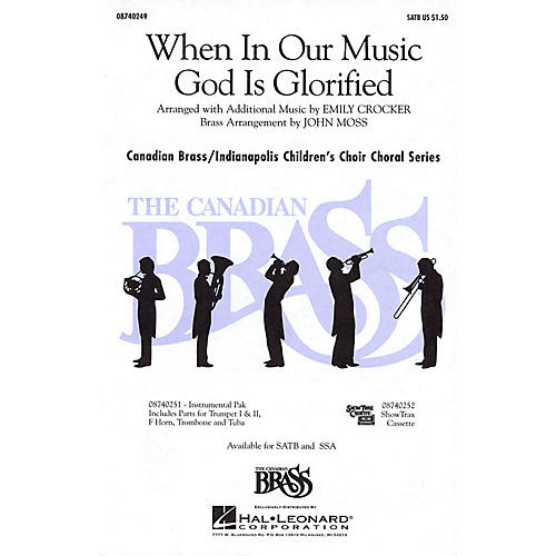 Hal Leonard When in Our Music God Is Glorified SSA Composed by Fred Pratt Green thumbnail