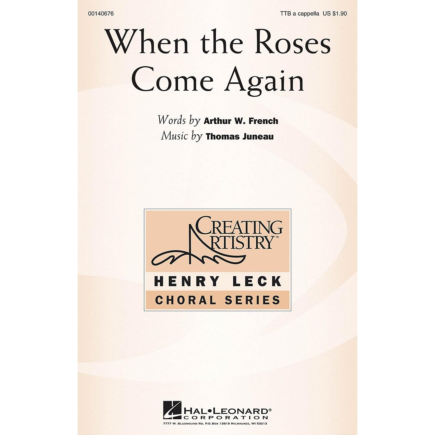 Hal Leonard When the Roses Come Again TTB composed by Thomas Juneau thumbnail